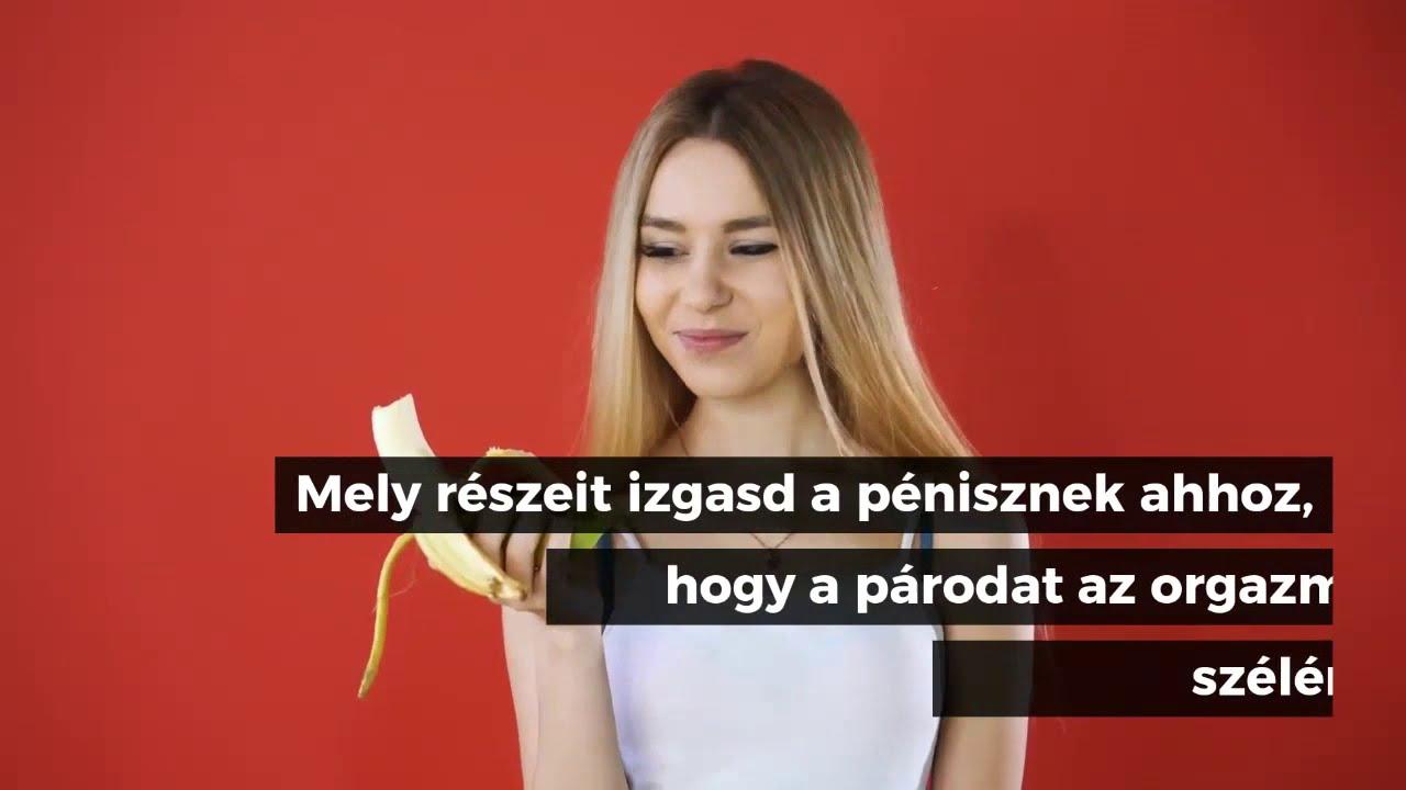 stimulálja a péniszet kézzel