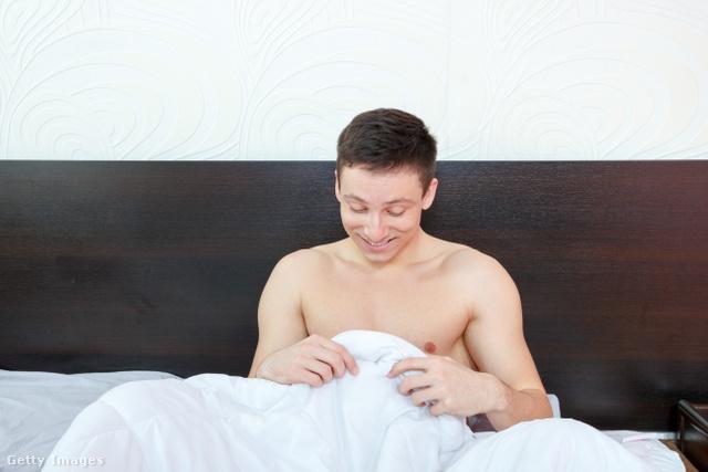 a reggeli erekció ritkábbá vált