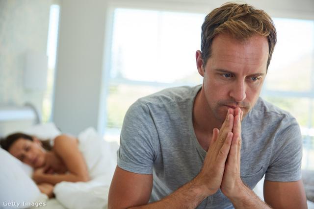 az erekció elvesztésétől való félelem