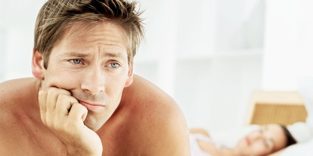 a férfiak korai merevedése okozza